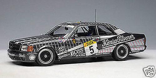 1 18 Autoart Millennium Mercedes Benz 500SEC AMG Spa  5  Rarità