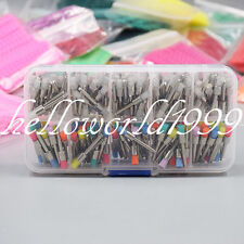 200 Pcs Dental Nylon Latch Flat Polishing Polisher Prophy Bowl Brush 235mm