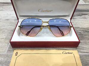 b273c97235 Cartier Occhiali Brille Large Panthere Sunglasses Gm Vintage cS3Aq4jL5R