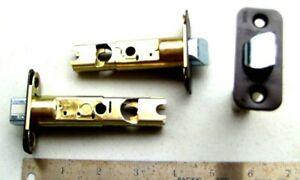 "Two  NEW  KWIKSET  6WAL  Adjustable   door Latches 2 3//8/""-2 3//4/"""