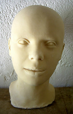 "Judy Garland Latex Head From Movieland Wax Museum Mold Other Entertainment Mem ""dorothy"" By Pat Newman!"
