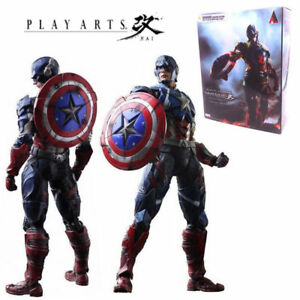 Marvel-Universe-Variant-Play-Arts-Kai-Captain-America-Collection-Action-Figures