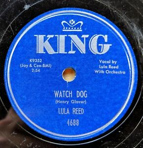LULA-REED-Watch-Dog-Your-Key-Don-t-Fit-No-More-KING-4688-Sonny-Kenner-guitar