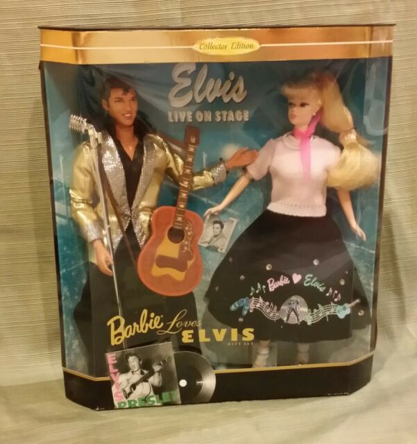 Barbie Loves Elvis Giftset *Collector Edition 1996 #17450 NRFB MIB NEW
