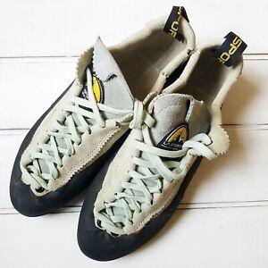 LA-SPORTIVA-Mythos-Climbing-Shoes-UNISEX-EU-40-UK-6-5-US-Mens-7-5-Womens-8-5