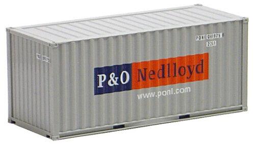 AWM SZ 20 ft Container gerippt P /& O Nedlloyd