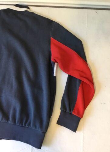 90 des des Nike Vintage Red Zip XL Logo taille Jacket Silver Full Tag Coat années Big 80 années pXdxdtq4