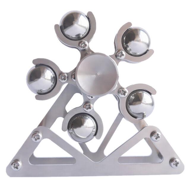 DIY Ferris Wheel 2th 5 Balls Fidget Spinner Tri Spin Finger Games Smooth  Metal