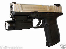 Pistol Flashlight For Smith And Wesson SD9VE Sigma Pistol Light.
