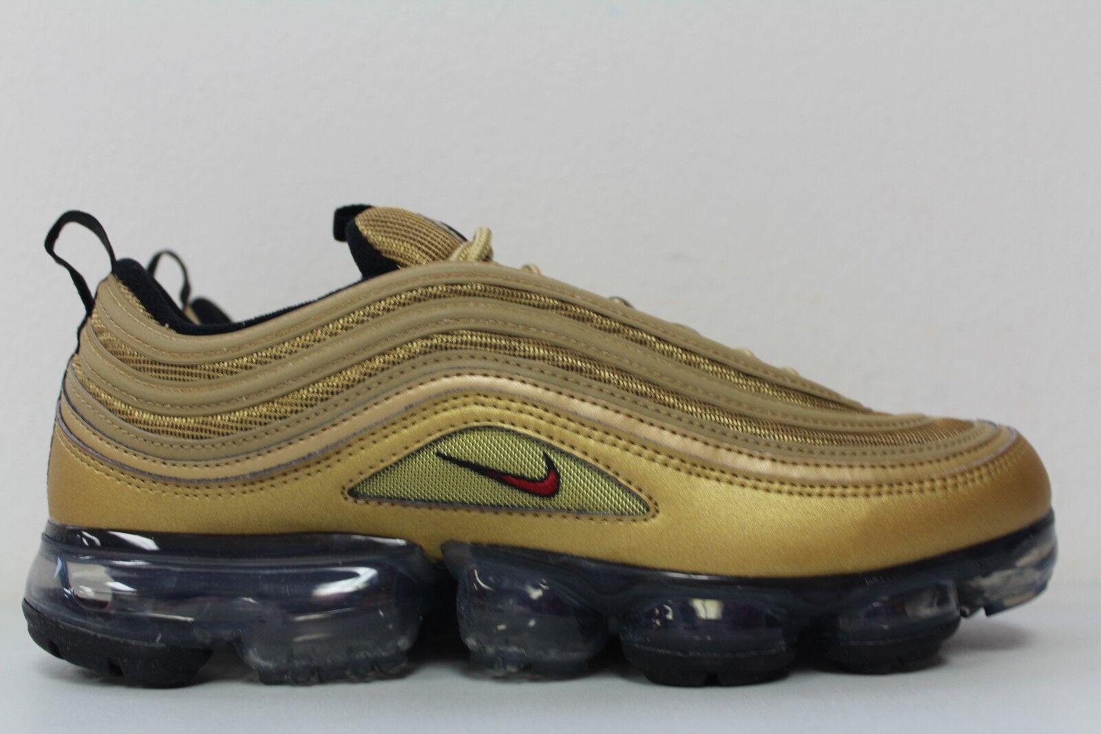 Nike Uomo aria vapormax '97 oro metallico della squadra rossa aj7291-700 numero 9