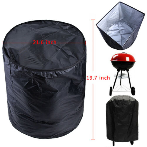 """BBQ Grill Cover For Weber Smokey Joe Silver Serving Indoor Outdoor Round 14/""""-22/"""""""