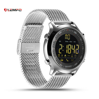 Lemfo Bluetooth EX18 IP67 Impermeable Reloj Inteligente Banda Para Android iOS