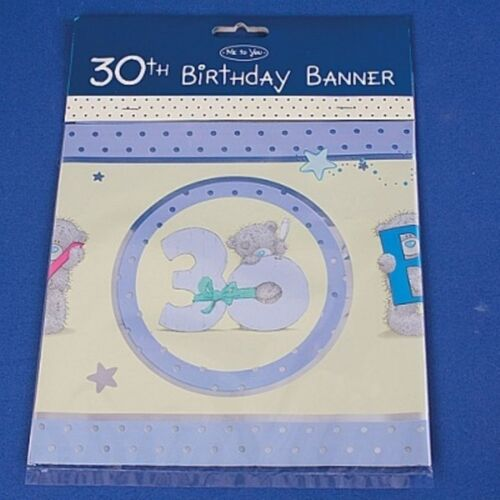 30th Anniversaire Bannière # 0021 ME TO YOU TATTY TEDDY BEAR DE COLLECTION