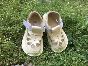Baby Barefoot Sandals First Walking Shoes Slippers