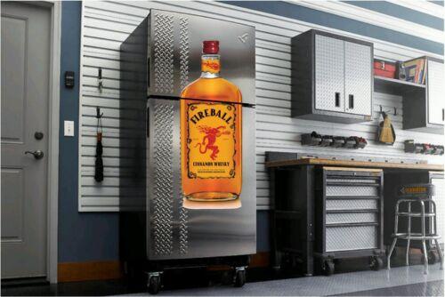 Fireball Whiskey decal fathead sticker 4/' dorm room garage man cave bar shot