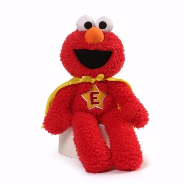 "New Gund Elmo 12/"" Superhero"