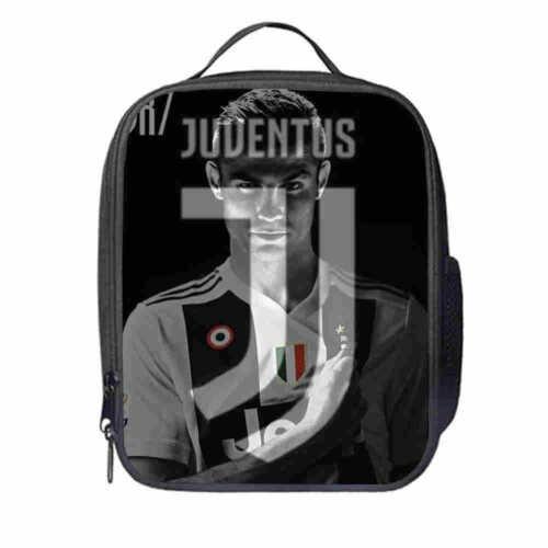 Cristiano Ronaldo Serie A Football Backpack Kid School Bag Travel Lunch Box Xmas