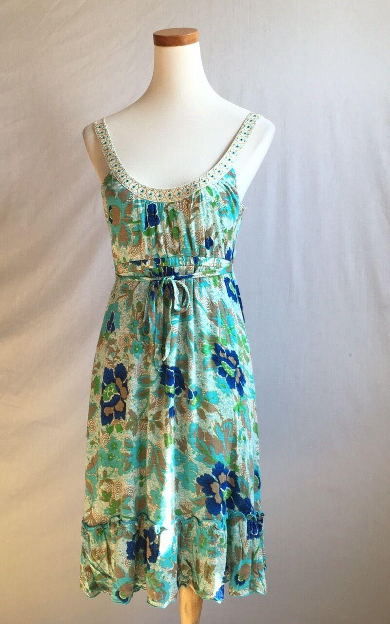 bc9c440ebb NEW Free Floral Beaded Dress Size S 4-6 People nqlugh2667-Dresses ...