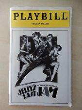 January 1993 - Virginia Theatre Playbill - Jelly's Last Jam - Gregory Hines