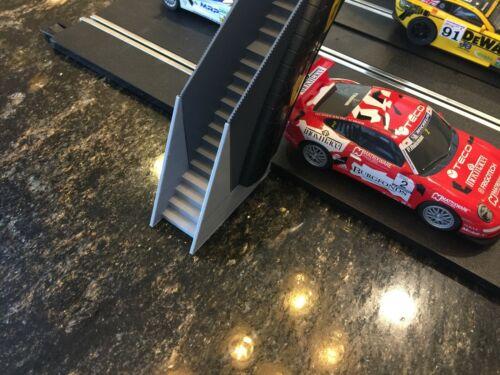 Scalextric 2-4 LANE HEIGHT EXTENDERS DUNLOP GOODYEAR Foot Bridge C641 C700 19mm