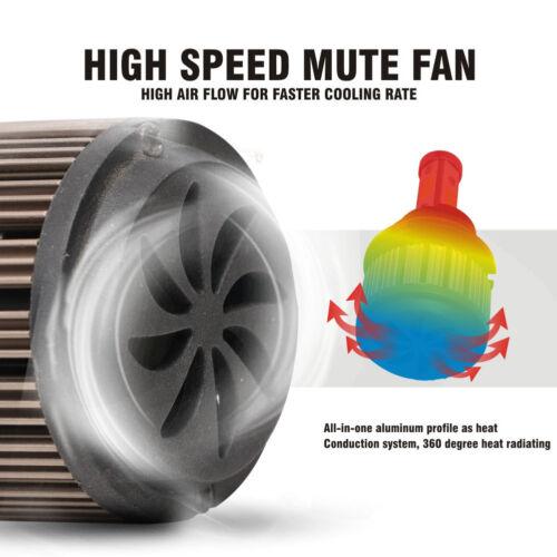 9007 HB5 LED Headlight Kit Bulb High Low Beam Light White 6500K 2PCS Super Power
