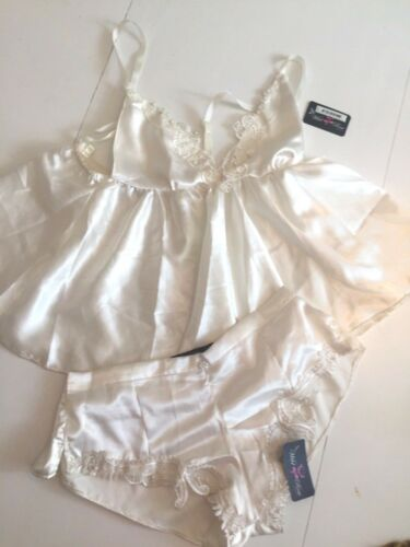 Wild Rose Conjunto de ropa interior de seda vintage burlesque
