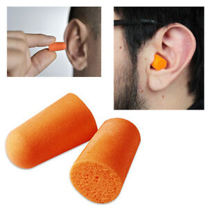 6 tappi per orecchie spugna antirumore silenzio viaggio for Migliori tappi antirumore
