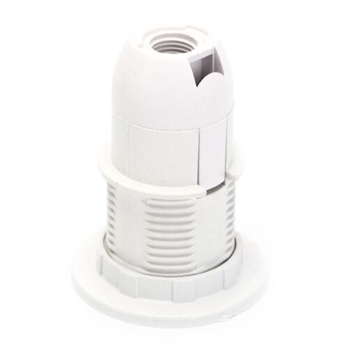 2x Schraube E14 Glühbirne Lampenfassung Lampenschirm Anhänger BuchseDDE