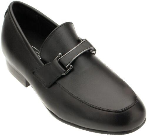 Venettini Boys 55-Ace12 Black Leather Loafer