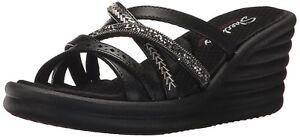 20d3c2f1e464f Details about Skechers Cali Women s rumbler Wave-New Lassie Slide Sandal
