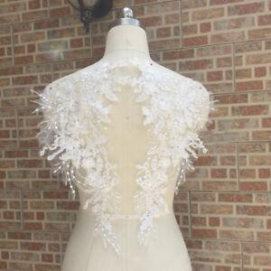 1-Pair-DIY-Bridal-Embroidery-Sewing-Lace-Applique-Trim-Motif-Wedding-Crafts-3D