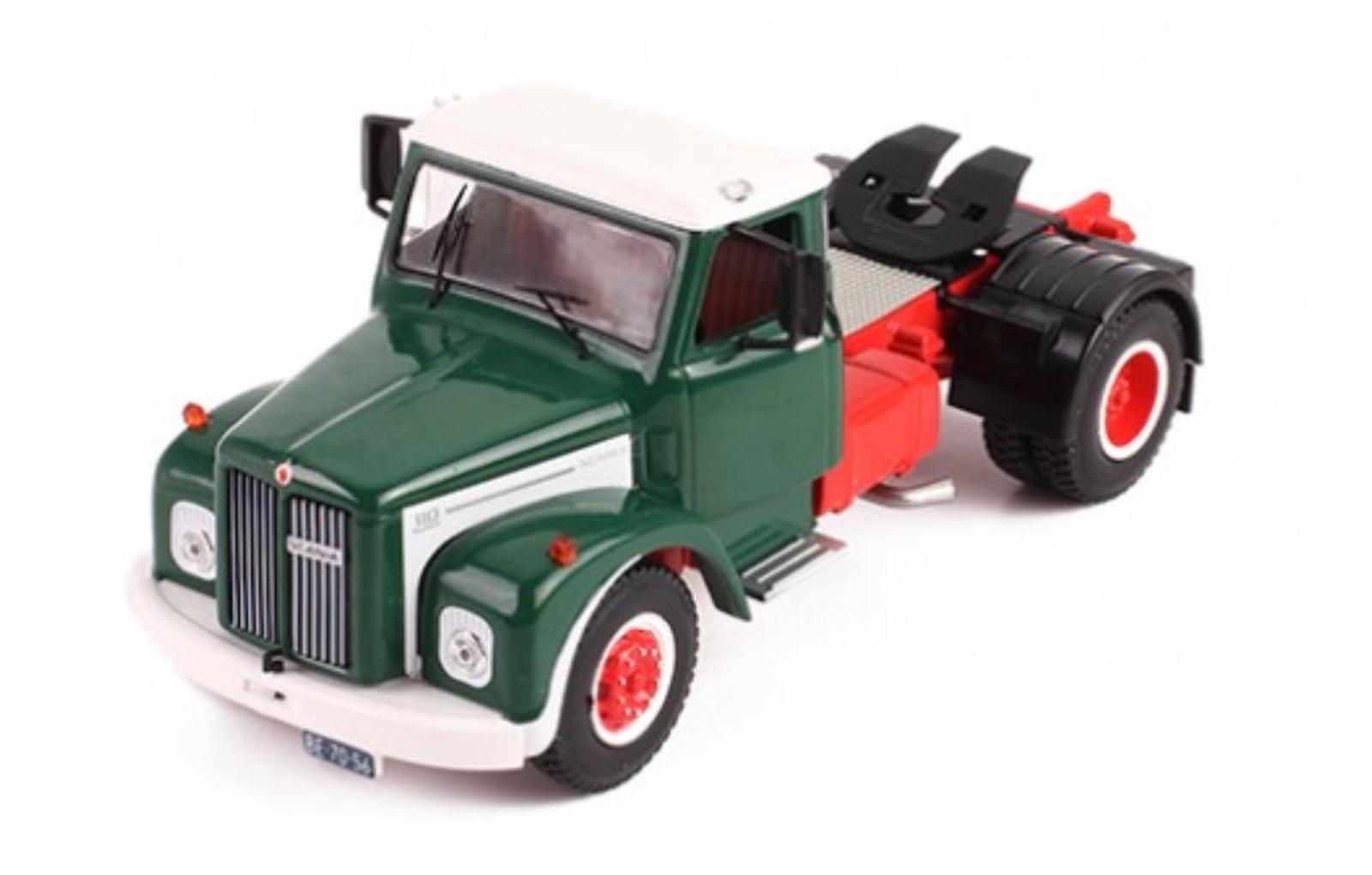 Scania 110 Super  grün weiss - 1 43 IXO       NEU <<<    Großartig