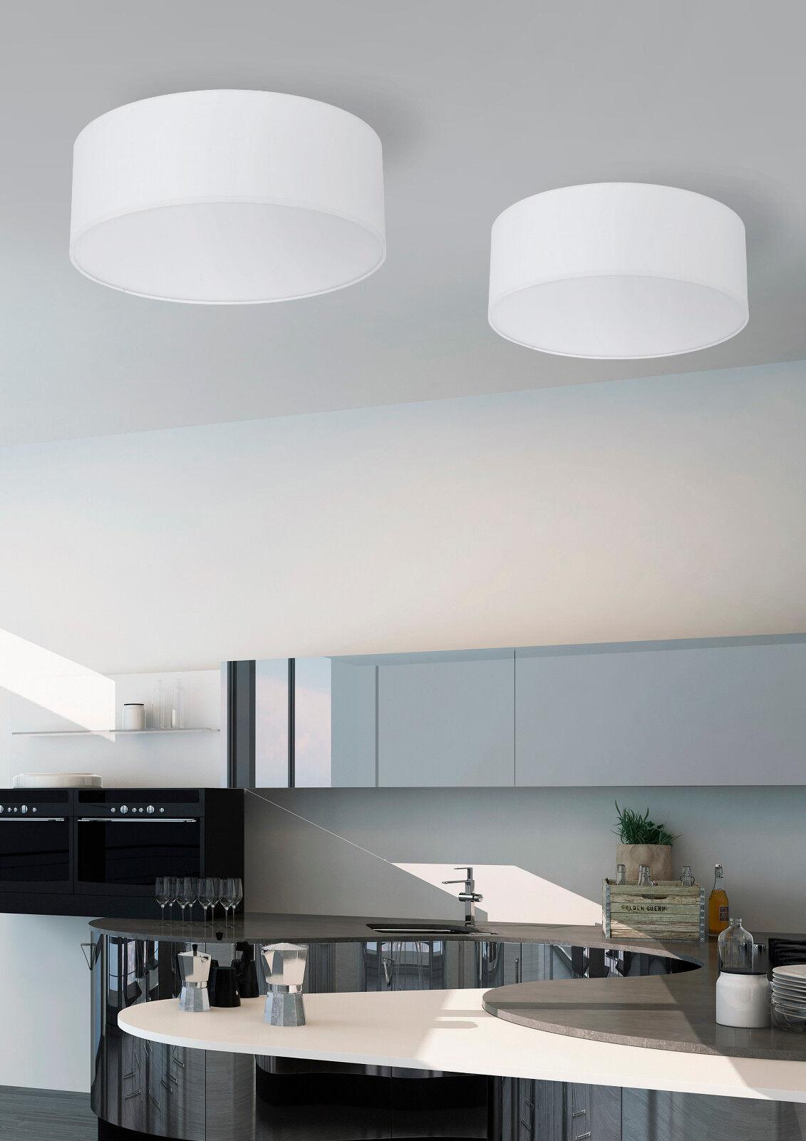 Deckenlampe Deckenleuchte LED Wohnzimmer E27 Kronleuchter weiß Lampe TKLighting®