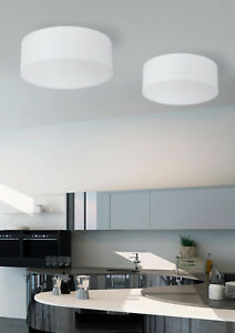 Details zu Deckenlampe Deckenleuchte LED Wohnzimmer E27 Kronleuchter weiß  Lampe TKLighting®