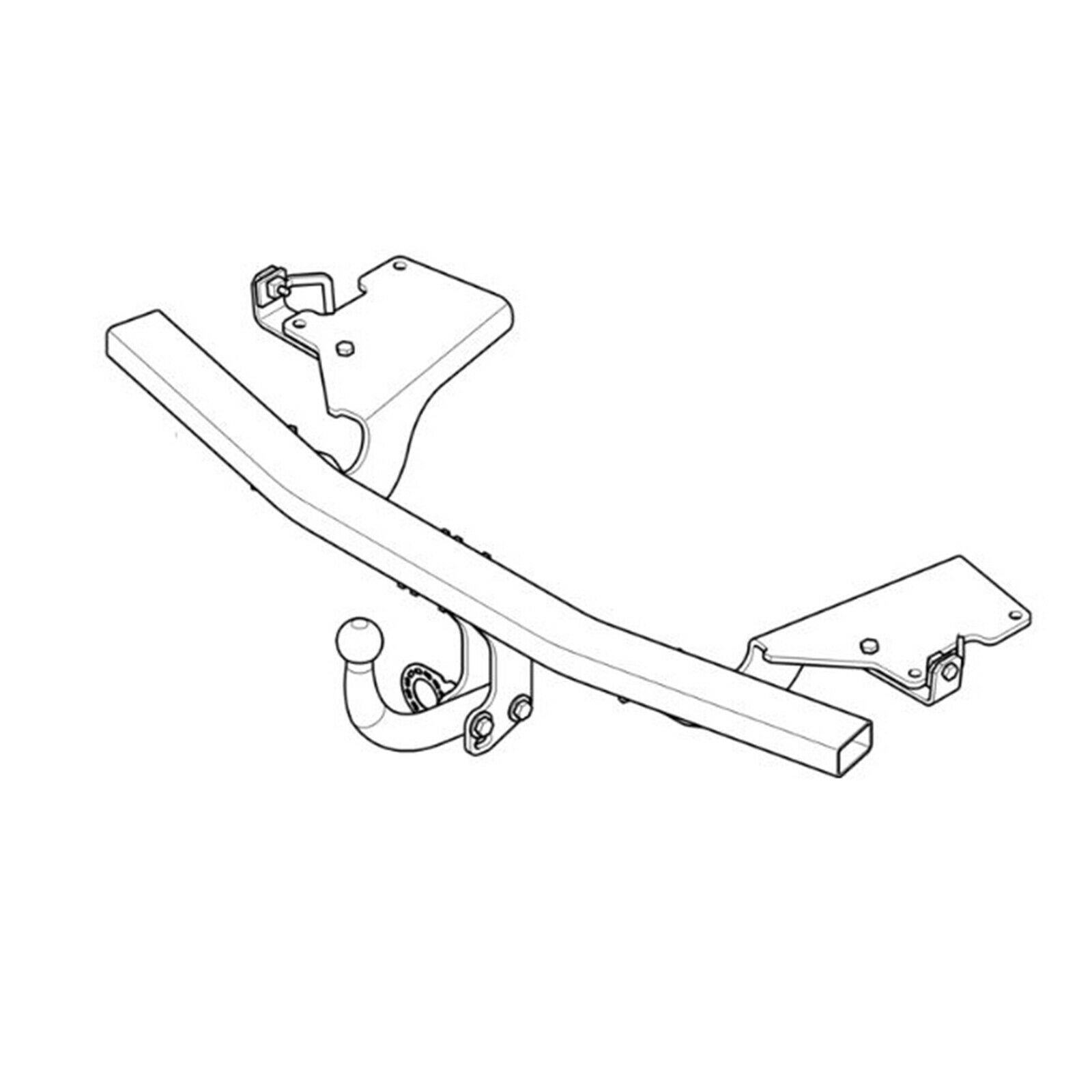 Westfalia Towbar for Skoda Octavia Estate Swan Neck Tow Bar Est 2005-2013