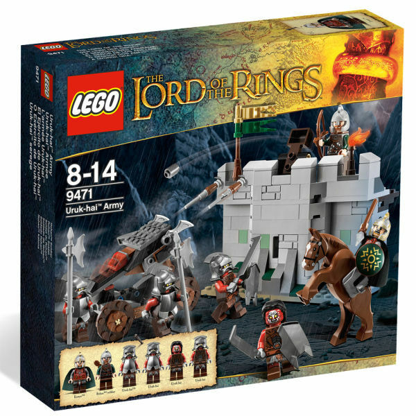 Lego - Set 9471 The Lord of The Rings  - Uruk-hai Army - UNOPENED SEALED NEW