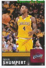 090 IMAN SHUMPERT USA CLEVELAND CAVALIERS STICKER NBA BASKETBALL 2017 PANINI