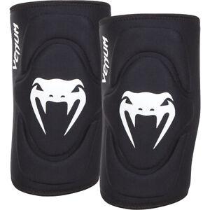 Venum Kontact Lycra/gel Knee Pads Black Medium/large
