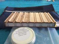 Dockyard Micro Woodcarving Tool Sharpening Strop Set