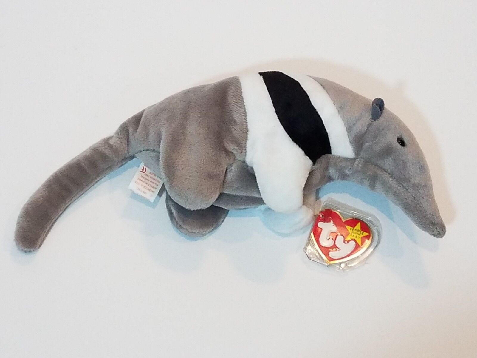 """Ty Beanie Baby """"Ants"""" The Anteater 1997 Rare With Errors"""