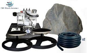 New 1 3hp Lake Amp Pond Sub Surface Aeration System For 1 3