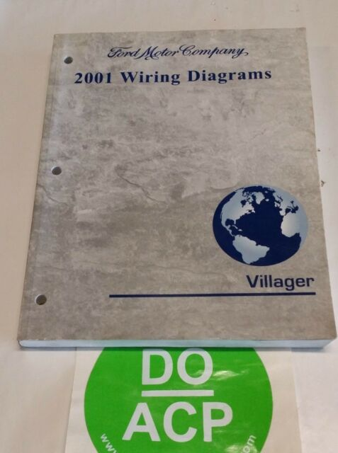 2001 Ford Villager Wiring Diagrams Service Manual