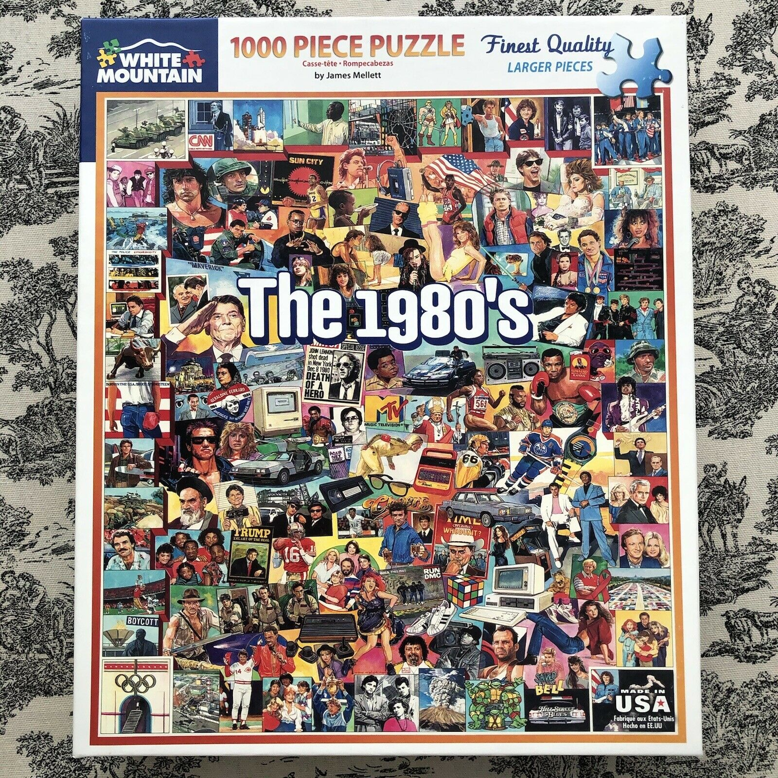 100 White Mountain Puzzles 1980\s Jigsaw Puzzle
