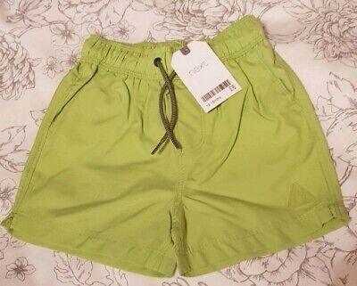 6-9 /& 9-12 Months Swimming Trunks BNWT Lime NEW NEXT Baby Boys Swim Shorts 3-6
