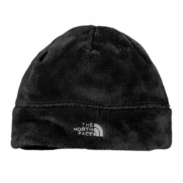 ca79f88e2 The North Face Youth Girls Denali TNF White Thermal Beanie Hat Medium