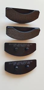 130 4 x Bremsklötze Scheibenbremsbelag  für MF Ferguson 122