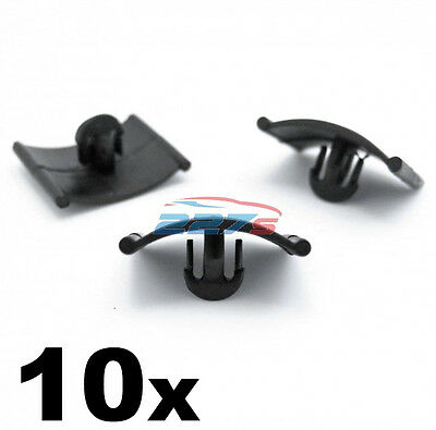 10x CLIPS FOR VAUXHALL CORSA ASTRA VECTRA BONNET TRIM INSULATION