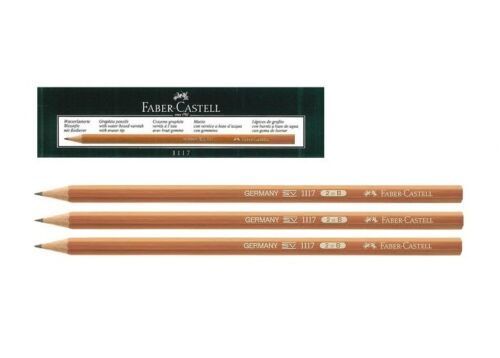Faber Castell Graphite Drawing Pencil 1117 B 111701 Box 12