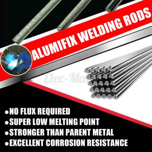 10Pcs 1.6//2.0X500mm Solution Flux-Cored Aluminum Soldering Easy Welding Rods