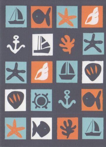 Hallmark Nautica Blank Note Card Greeting Card